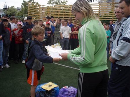 Нагородження калуських міні-футболістів